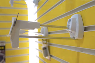 Защита товаров от краж в открытой выкладке